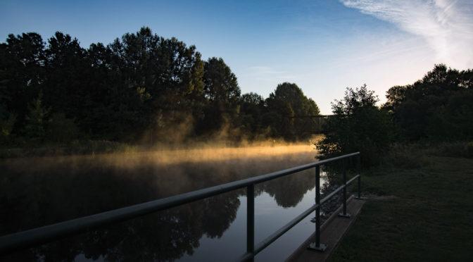 Sonnenaufgang in Liebenwalde